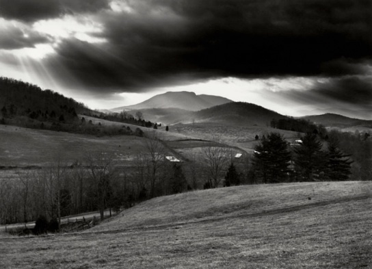 Sally Mann: House Mountain,  Rockbridge County (1972-73)