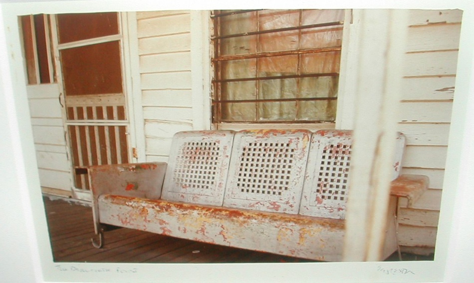 William Eggleston: SIGNED Print from Faulkner's Mississippi