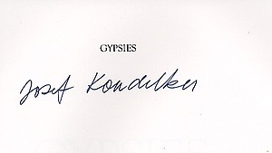 Joseph Koudelka: Gypsies (SIGNED)