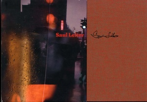Saul Leiter: Three SIGNED Books (2008 Steidl Monograph + Early Color + Retrospektive)