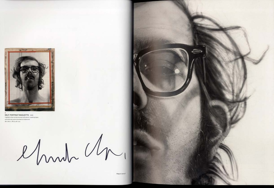 Chuck Close: A Couple of Ways of Doing Something + Self-Portraits + Work + Life (4 SIGNED BOOKS!)