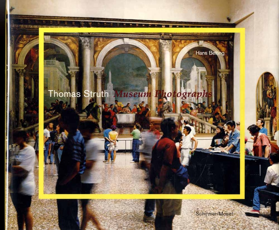 Thomas Struth: Museum Photographs (1993 True 1st Ed.; SIGNED!)