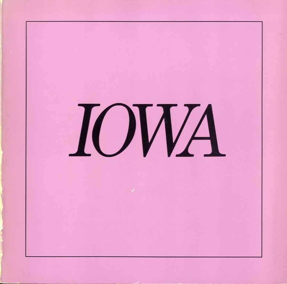 Nancy Rexroth: Iowa (SIGNED)
