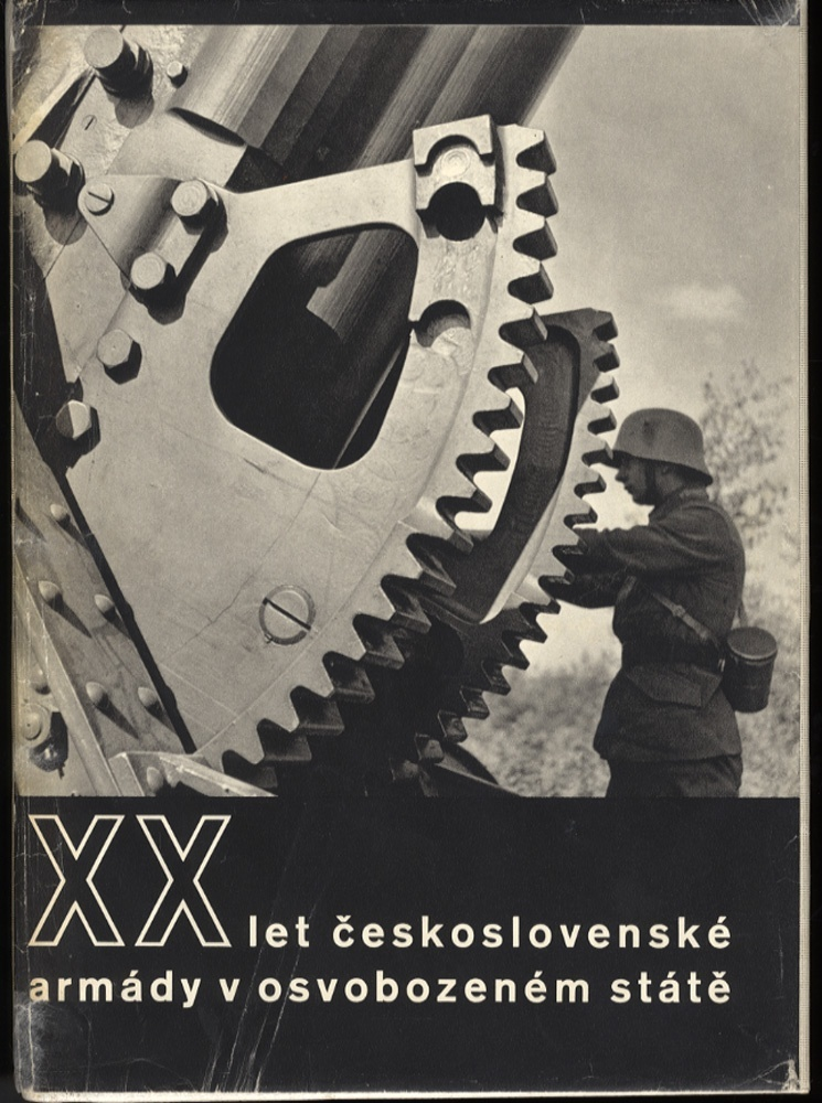 Twenty Years of the Czechoslovakian Army in the Liberated State (Designed by Ladislav Sutnar)