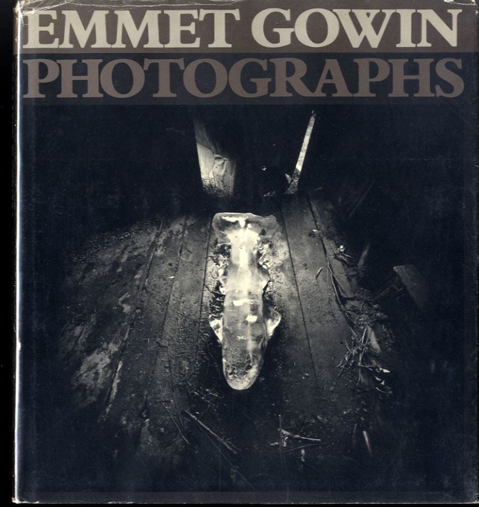 Emmet Gowin: Photographs (1st monograph, 1976, Rare Hardbound Edition!) --SIGNED