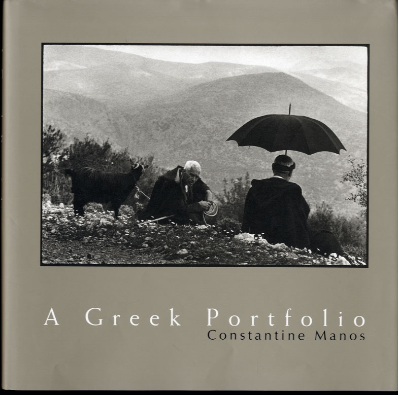 Constantine Manos: Greek Portfolio + Bostonians (BOTH SIGNED)