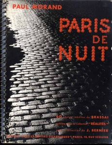 Brassaï: Paris de Nuit (SIGNED by Paul Morand)