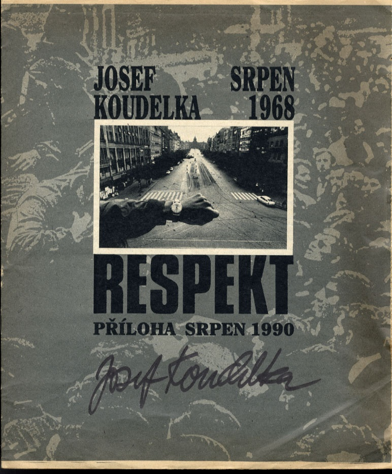 Josef Koudelka: Respekt (1968 Prague Invasion Photos!)--SIGNED!!