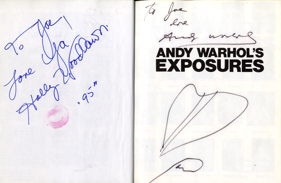 Andy Warhol's Exposures (with Mulitiple Signatures from Warhol & Others!)