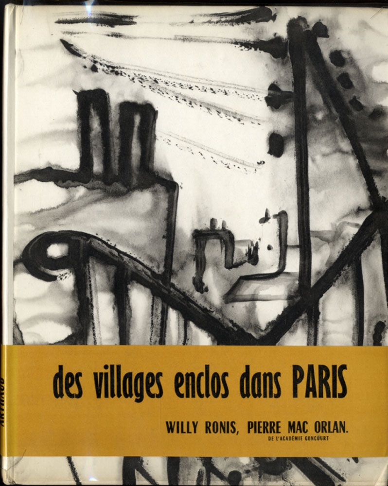 Willy Ronis: Belleville-Menilmontant (Rare Hardbound Edition)