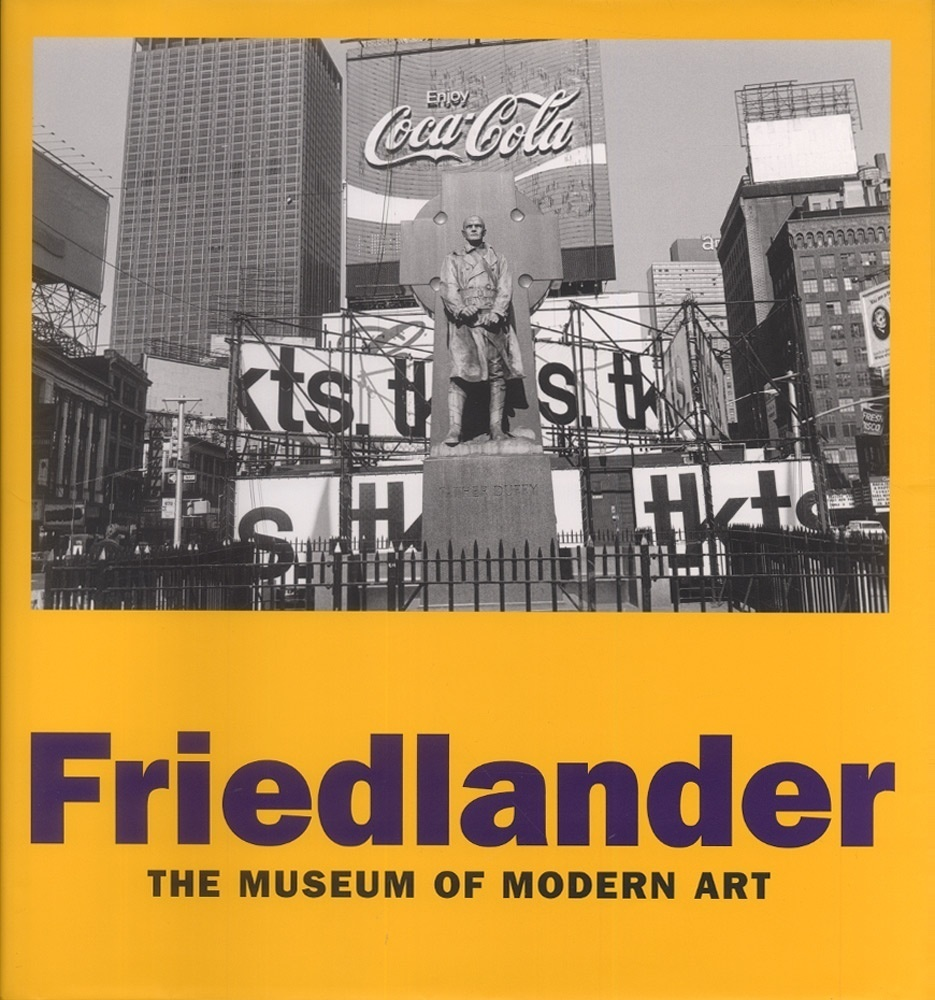 Lee Friedlander (Museum of Modern Art Retrospective Catalogue--SIGNED!)