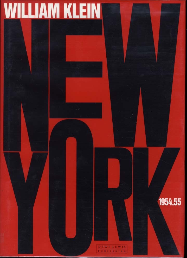 William Klein: New York. 1954.55 (SIGNED)