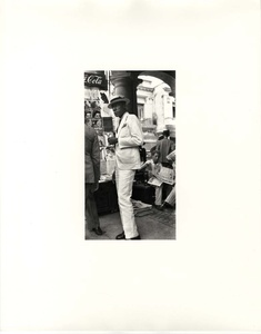 Walker Evans: Havana 1933 (with Print, 'Man in a White Suit', 1933)