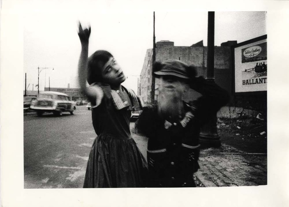 William Klein: Dance in Bensonhurst, NY, 1955 (From 'New York')