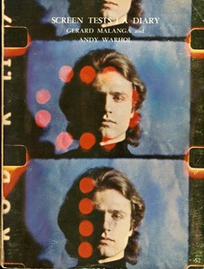 Andy Warhol/Gerard Malanga: Screen Tests/A Diary