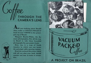 Margaret Bourke-White: Coffee Through The Camera's Lens