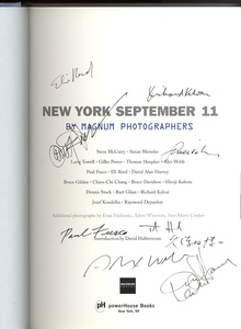 New York September 11 SIGNED by 9 Magnum Photographers