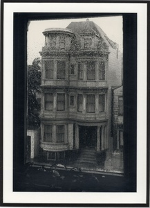 Ruth Bernhard: Victorian House, San Francisco, 1963