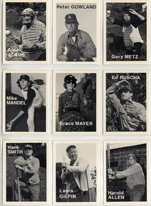 Mike Mandel: Untitled (Baseball-Photographer Trading Cards), Complete Set of 135