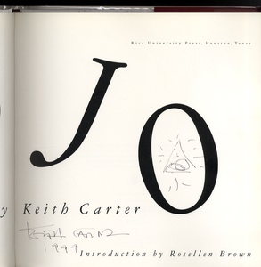 Keith Carter: Three Signed Books (The Blue Man + Mojo + From Uncertain to Blue)