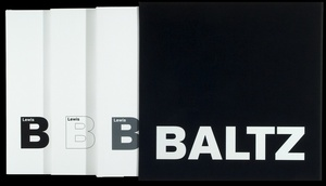 Lewis Baltz: New Industrial Parks, Tract Houses, Prototype Works (3 volume set)--SIGNED