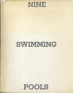 Ed Ruscha: Nine Swimming Pools (First Edition)