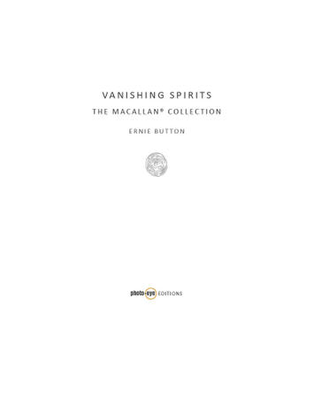 ERNIE BUTTON: <em>Vanishing Spirits</em>