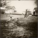 Open for Bidding: Nancy Rexroth print, Boys Flying, Amesville, Ohio, 1976
