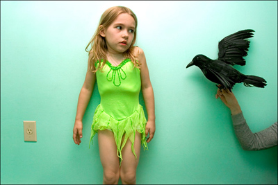 Ariella and Crow © Sarah Small, 2008 Review Santa Fe participant