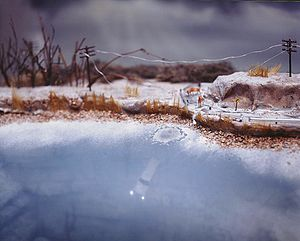 Ice Storm  © Lori Nix, 1999