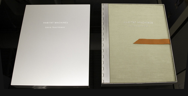 Habitat Machines Limited Edition Book Housed in an Archival Aluminum Box