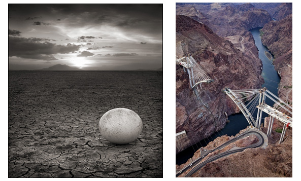© Nick Brandt and Jamey Stillings, respectively<Br>