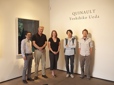 from left to right: Koichiro Okada, Rixon Reed, Melanie McWhorter, Yoshihiko Ueda and Antone Dolezal