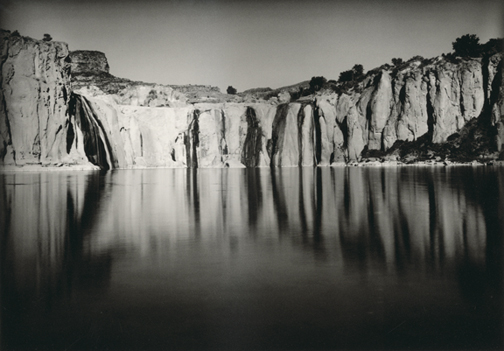 from the book Shoshone Falls, photography by Thomas Joshua Cooper & Timothy H. O'Sullivan