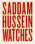 Martin Parr: Saddam Hussein Watches