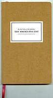 Jason Eskenazi: <i>The Americans List</i>