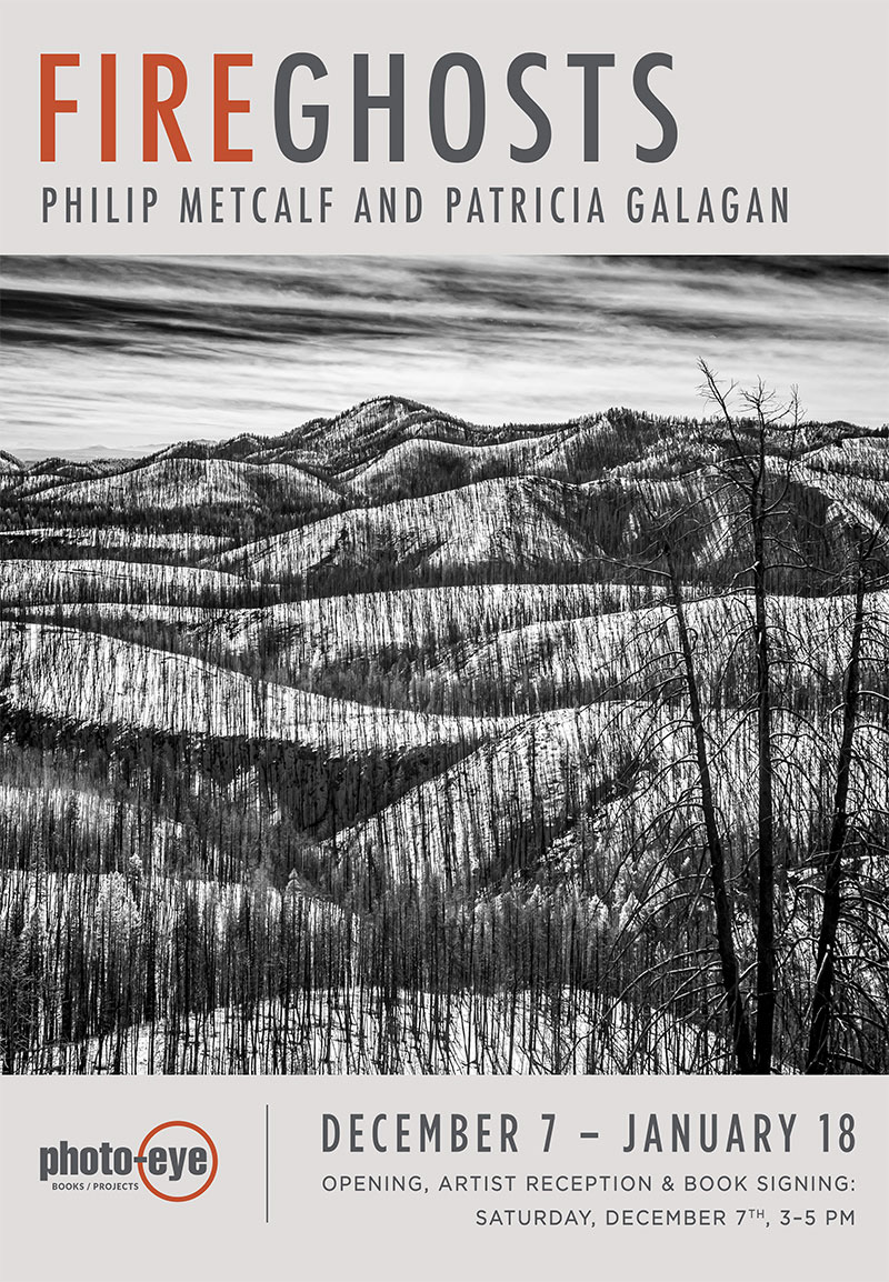 FIRE GHOSTS: Philip Metcalf and Patricia Galagan