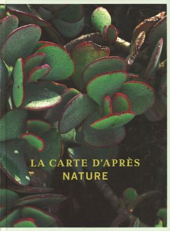 La Carte d'apres Nature